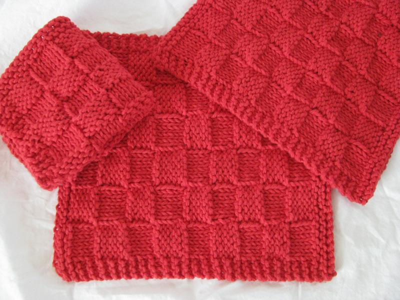 Basket Weave Knit Dishcloth Pattern ? Craftbnb