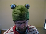 Finished Froggie Beanie