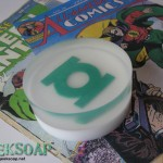 green lantern geek soap