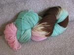 """superwash BFL fingering weight wool dyed """"Lesley"""" by Lesleyluu"""