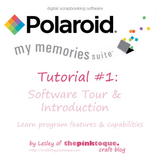 My Memories Suite software Tutorial 1