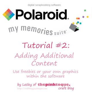 My Memories Suite software Tutorial 2