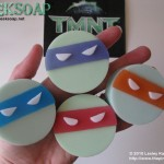TMNT ninja turtle geek soap