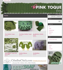 The Pink Toque shop