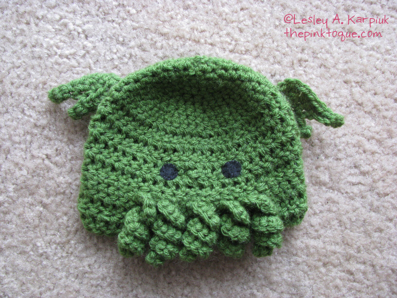 The Pink Toque Hats Baby Crochet Cthulhu Toques