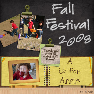 Lauren's Fall Festival Layout