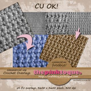 CU Crochet Paper Freebie