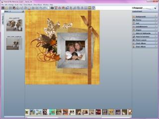 screenie of My Memories Suite in action