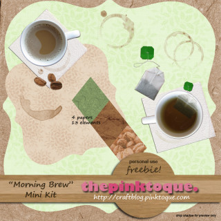 Morning Brew Freebie Kit