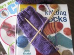 look at me go! my first sock