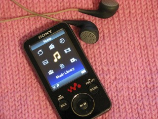 I love my MP3 player