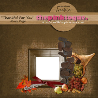 Thankful for You QP Freebie Preview