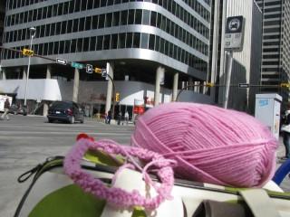 Knitting in the (Urban) Wild.