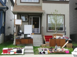Our moving sale on Saturday